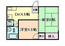 藤井ビル[3階]の間取り