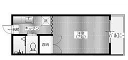 メゾン・ユー[2階]の間取り