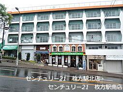 大阪府枚方市香里ケ丘10丁目の賃貸マンションの外観