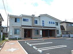 埼玉県坂戸市泉町3丁目の賃貸アパートの外観