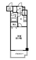 ガーデンハイム5[1階]の間取り