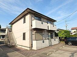 栃木県宇都宮市大和3丁目の賃貸アパートの外観