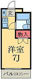 千葉県千葉市緑区おゆみ野中央4丁目の賃貸マンションの間取り