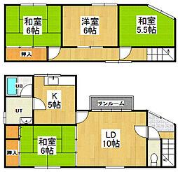[一戸建] 北海道小樽市最上2丁目 の賃貸【北海道/小樽市】の間取り