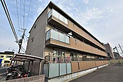 大阪府松原市北新町1丁目の賃貸アパートの外観