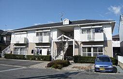 滋賀県守山市守山4丁目の賃貸アパートの外観