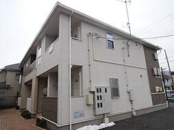 埼玉県八潮市緑町2丁目の賃貸アパートの外観