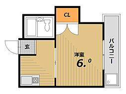 メゾン妙法寺[4階]の間取り
