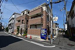 大阪府大阪市旭区清水5丁目の賃貸アパートの外観