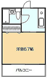 エミネント西生田[2階]の間取り