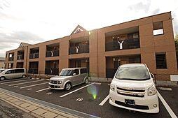 埼玉県北葛飾郡松伏町田中3丁目の賃貸アパートの外観