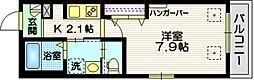 (仮称)大田区南雪谷2丁目メゾン 2階1Kの間取り