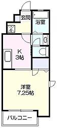 プライム蔵[2階]の間取り