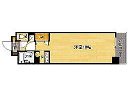 レオンド浄水南[4階]の間取り