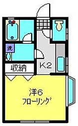 コトードミール[2階]の間取り