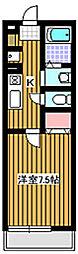 プレシアンス[2階]の間取り