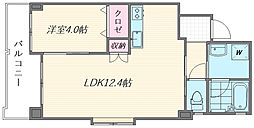 (仮称)箱崎1丁目新築マンション[303号室]の間取り
