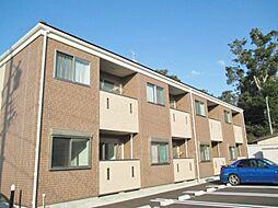 長野県須坂市墨坂1丁目の賃貸アパートの外観