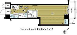 東京都中央区築地4丁目の賃貸マンションの間取り