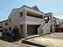 愛知県豊田市平戸橋町永和の賃貸アパートの外観