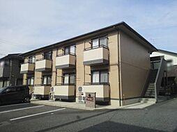 愛知県岡崎市法性寺町字色子の賃貸アパートの外観