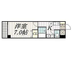 BELLAGIO‐Ⅰ[5階]の間取り