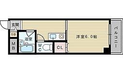 ロイヤルメゾン淡路[3階]の間取り