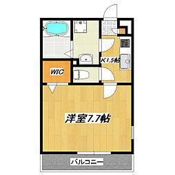 東京都江戸川区興宮町の賃貸マンションの間取り