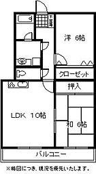 第3泰仙ビル[301号室]の間取り