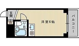 リバーサイド吹田[3階]の間取り
