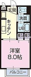 愛知県瀬戸市幡山町の賃貸アパートの間取り