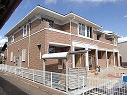 埼玉県所沢市堀之内の賃貸アパートの外観