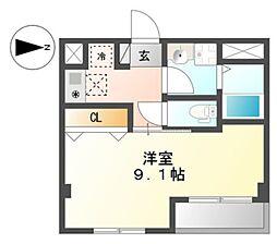 仮 国立谷保新築マンション[1階]の間取り
