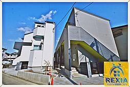 千葉県千葉市稲毛区稲毛東6丁目の賃貸アパートの外観