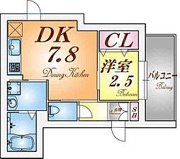 御船D−room[1階]の間取り