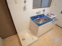 クラシス西山の室内洗濯機置き場