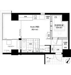 SHINKA[4階]の間取り