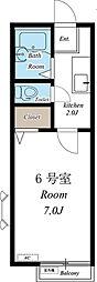 セシル[2階]の間取り