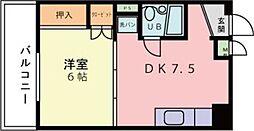 第二地録ビル[107号室]の間取り