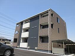 滋賀県米原市下多良2丁目の賃貸アパートの外観