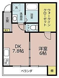 マーリエOKOSHI(おこし)[2階]の間取り
