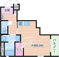 ファーレ[3階]の間取り