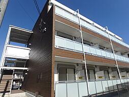 埼玉県さいたま市桜区西堀6丁目の賃貸アパートの外観