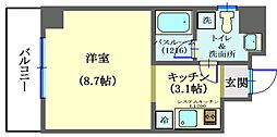 MYビル[7階]の間取り
