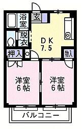 ドリーム1[1階]の間取り