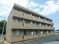 東京都日野市万願寺3丁目の賃貸アパートの外観