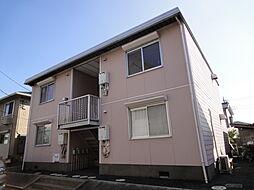 埼玉県八潮市大字柳之宮の賃貸アパートの外観