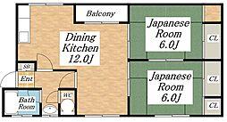 吉田マンション[1階]の間取り