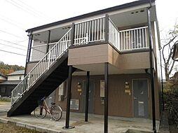 岐阜県関市向山町2丁目の賃貸アパートの外観