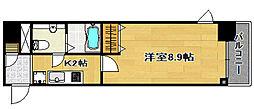 ステージグランデ日本橋[11階]の間取り